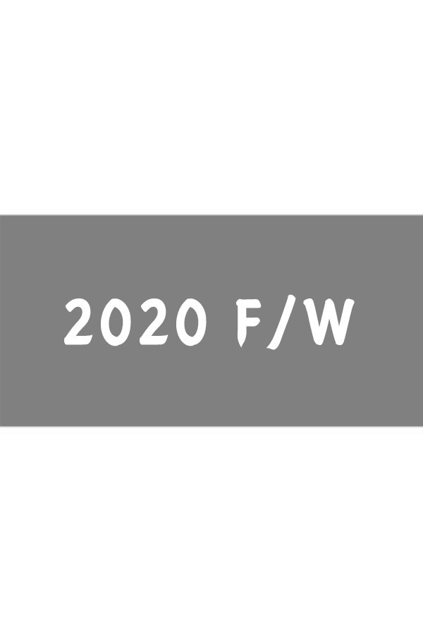 2020 F/W E-CATALOGUE